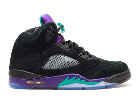 Air Jordan 5 Retro Black Grape- GS