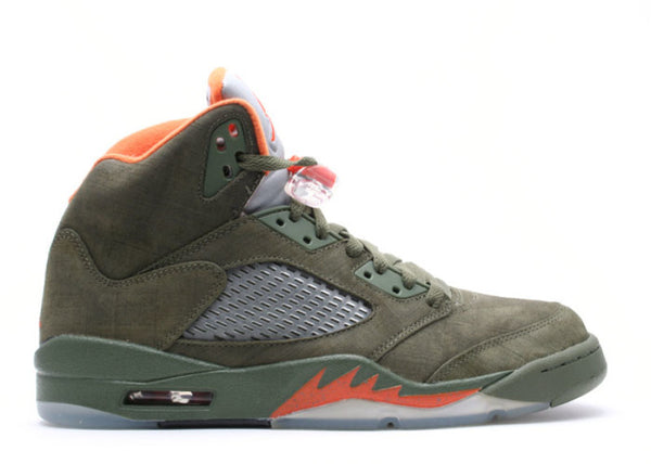 "Air Jordan 5 Retro LS ""Olive"""