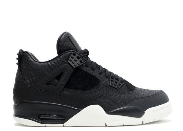 Air Jordan 4 Retro Premium- Black Pinnacle