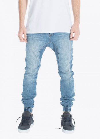 Zanerobe Slingshot Denimo Joggers Blow-Out Blue