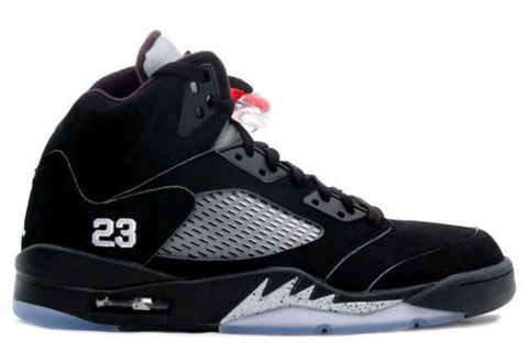 "Air Jordan 5 Retro ""Black Metallic"""
