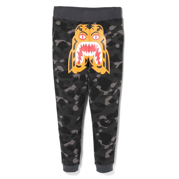Bape Color Camo Tiger Slim Sweatpants