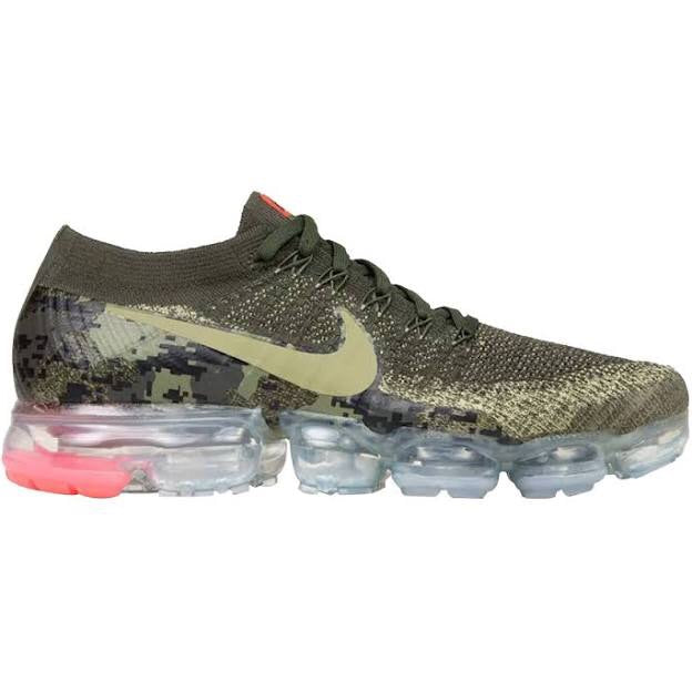 """new concept 5a2f3 187ab Nike Air Vapormax Flyknit C """"Olive Camo"""""""