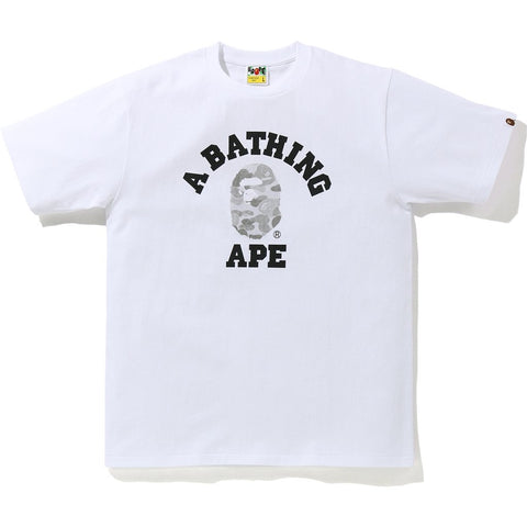 Bape ABC Dot Reflective College Tee