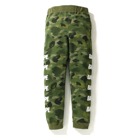 Bape Gradation Camo Slim Sweatpants