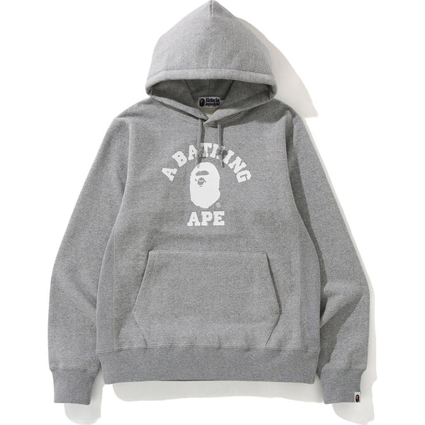 Bape College Heavyweight Pullover Hoodie