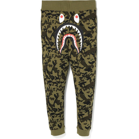 Bape Desert Camo Shark Slim Sweatpants
