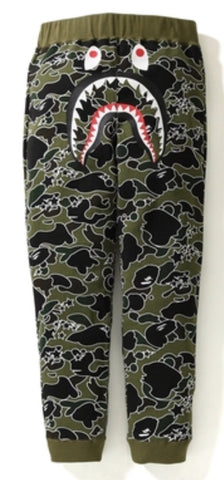 Bape Sta Camo Shark Slim Sweatpants
