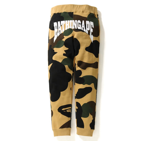 Bape Giant 1st Camo Slim Sweat pants
