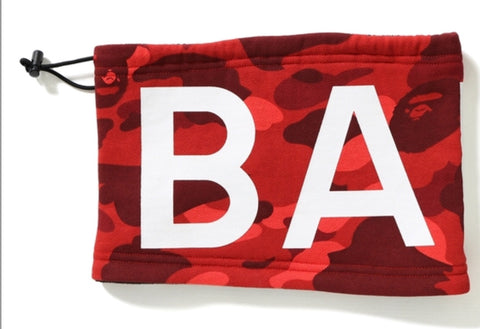 Bape Color Camo Neck Warmer