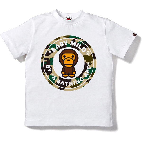 Bape 1st Camo Milo Busy Works Tee- kids