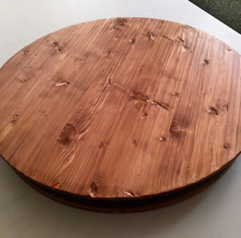 Lazy Susan... Reclaimed  Wood