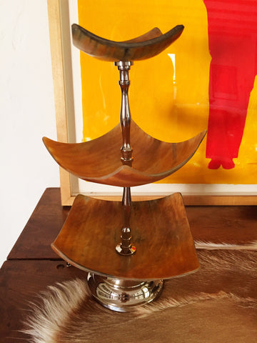 Three Tier Horn Dish