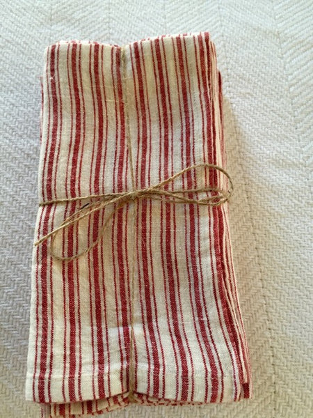 Washed Linen Napkins ...set of four