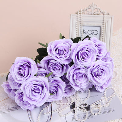 10 head Lilac/Light Purple Rose