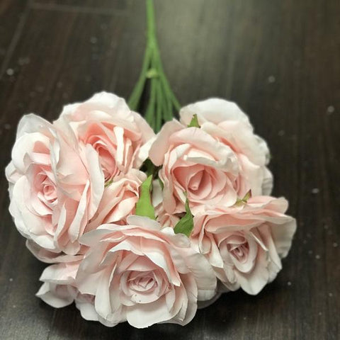15 head Artificial Roses (Pink)-152