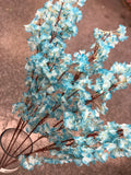 Artificial Cherry Blossom Sakura Blue wedding decoration silk fake flower - Richview Glass Wedding Supplies