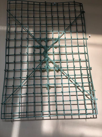 "Flower Net/ Grid 24"" X 16"" NET2 - Richview Glass Wedding Supplies"