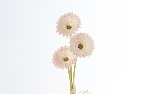 "15"" Ivory Gerbera X3 - SB220PK - Richview Glass Wedding Supplies"