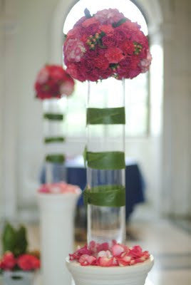 "Cylinder Centerpiece Glass Vase 26""x5.5"" V1108 - Richview Glass Wedding Supplies"