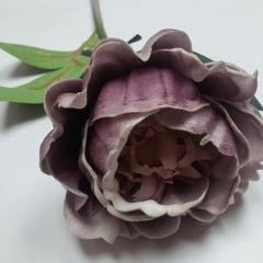 Real Touch Peony Single Stem SB250 (Lavender) -PEO4