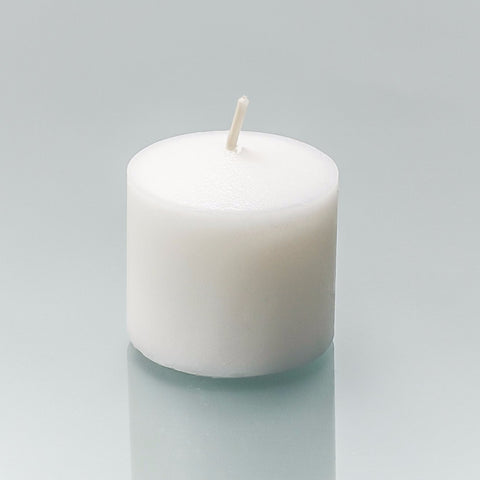 Single Piece Votive White Candles
