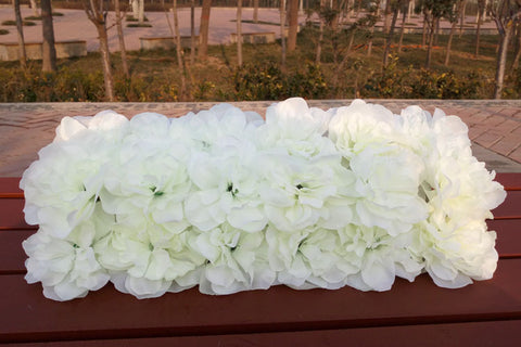 White MAT FOR Flower WALL artificial flower