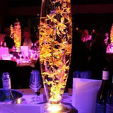 16'' WHOLESALE BULLET/DRUM VASE-VAS1-3 - Richview Glass Wedding Supplies