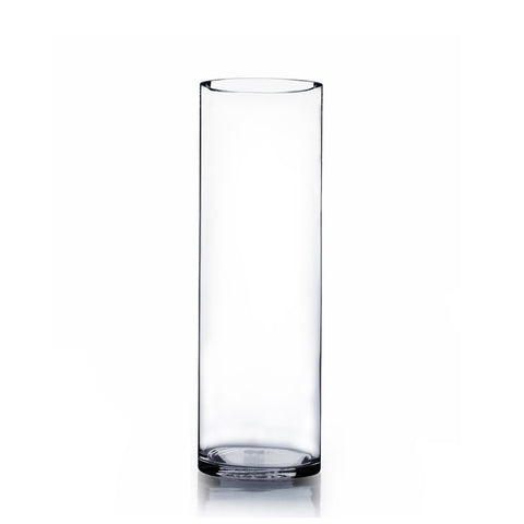 "Cylinder Vase 24""x8"" DIY Wedding Supply - Richview Glass Wedding Supplies"