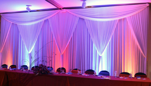 20' Pipe and Drape heavy duty Backdrop Stand