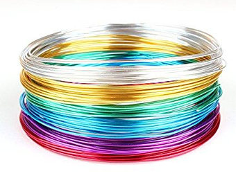 Aluminum Wire for Jewelry, Crafting (pink)- EFAC6A56 - Richview Glass Wedding Supplies