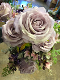 Lilac ROSE BUNCH With fillers