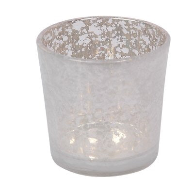 Small Candle-holder (votive) white