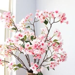 Artificial Apple Blossom Pink wedding decoration silk fake flower - Viva La Rosa
