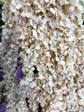 Artificial Flower Hanging Flower Garland Wisteria Single Strand 2.2m (blush) ART1-46 - Richview Glass Wedding Supplies