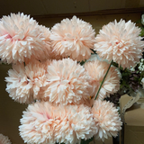 New blush Pom Artificial Filler Flower