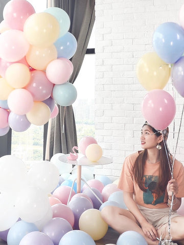25 pcs Mix Pastel color balloon baby shower