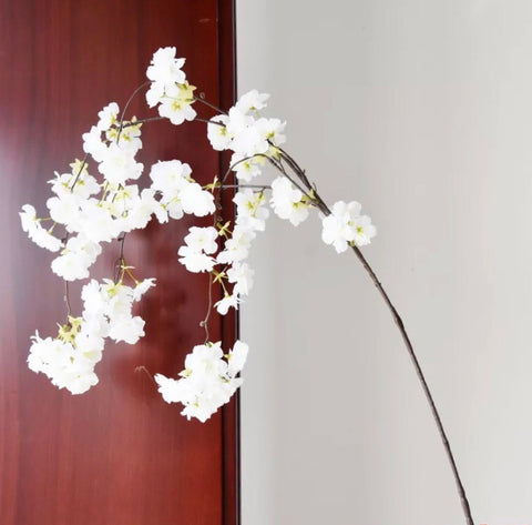 Cherry Blossom Hanging white wedding decoration