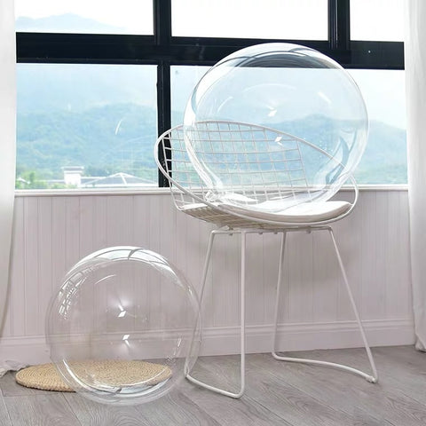 10 pcs Clear bobo balloon 20""