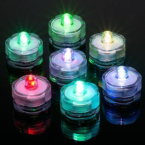SINGLE SUBMERSIBLE LED LIGHT WINTER WEDDING IDEAS (7 color) -SIN1-9