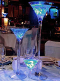 "Martini Vase 16' x5.7"" Clear Glass"