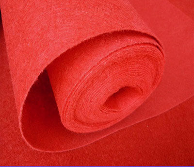 Disposable Red Carpet Fabric 1.5mx20m - Richview Glass Wedding Supplies