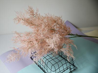 Blush Rime Spray Artificial flower wedding greenery filler - Richview Glass Wedding Supplies