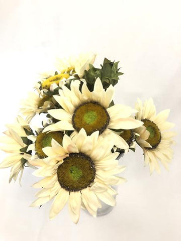 New Sunflower ARTIFICIAL FLOWER HEAD WEDDING DECOR SUN FLOWER