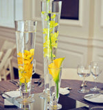 "DIY Wedding 16""Clear Pilsner/Cone/Trumpet Vase- TRU1 - Richview Glass Wedding Supplies"
