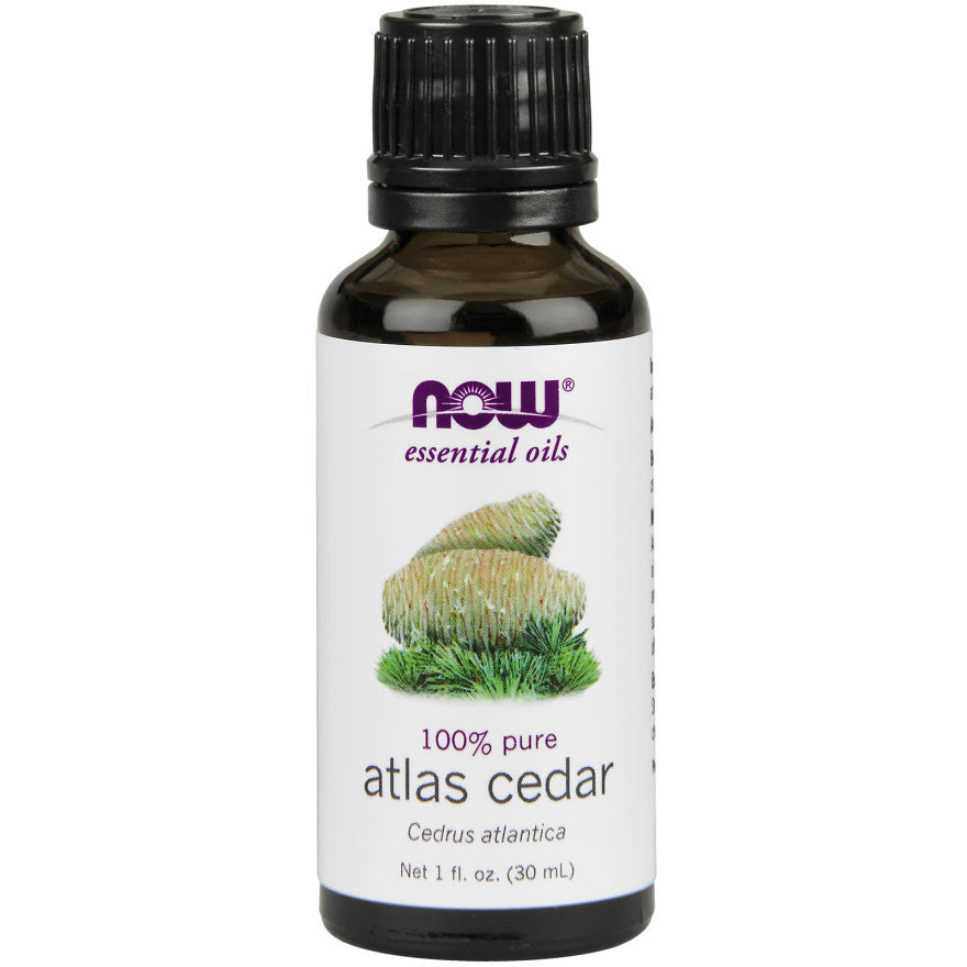 Atlas Cedar Essential Oil by NOW