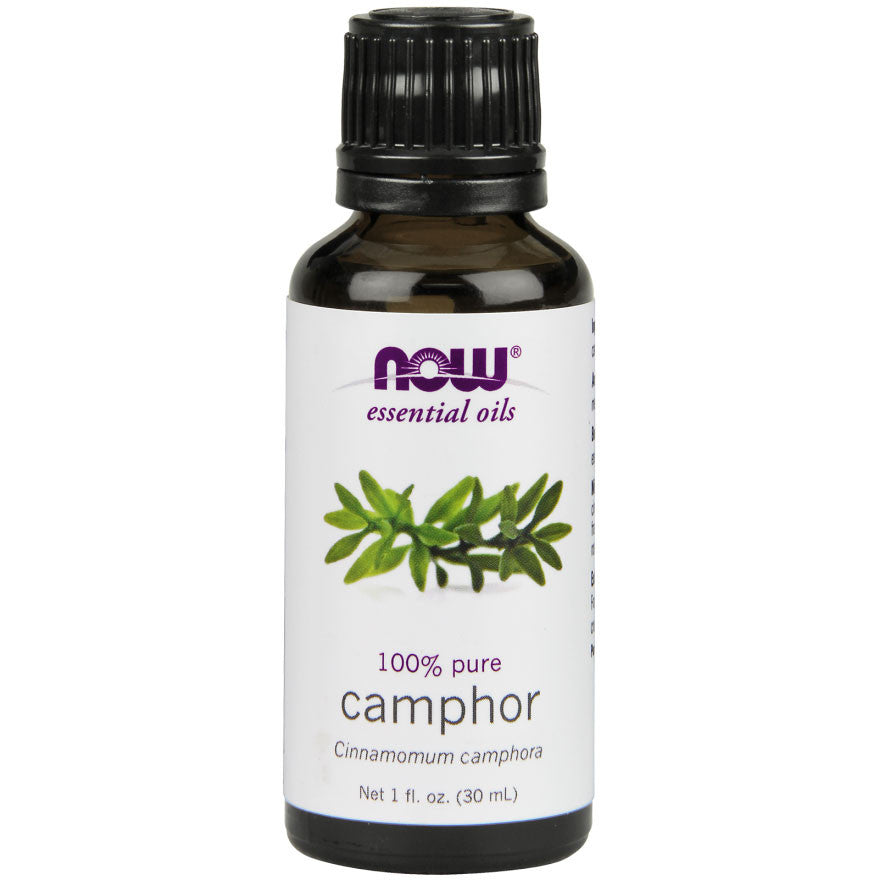 Camphor Essential Oil by NOW