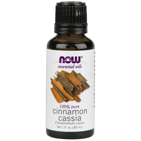 Cinnamon Cassia Essential Oil by NOW