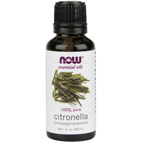 Citronella Essential Oil by NOW