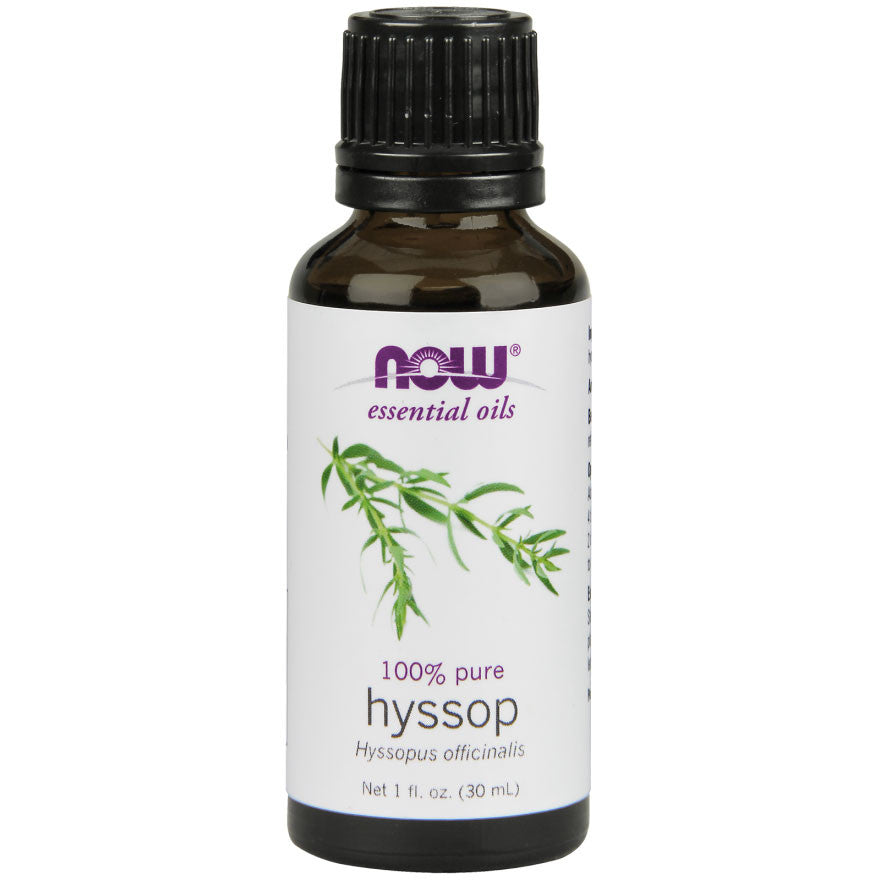 Hyssop Essential Oil by NOW